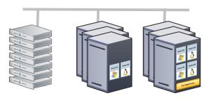 Server im Unternehmen